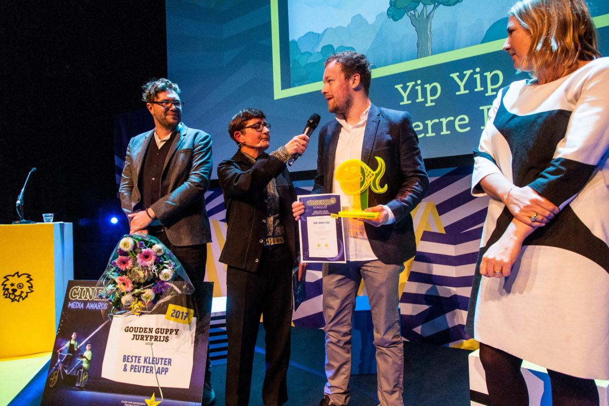 Cinekid Media Awards Gouden Guppy