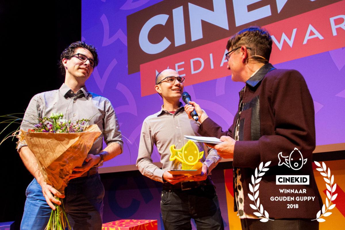 gouden guppy,cinekid media awards,luqo