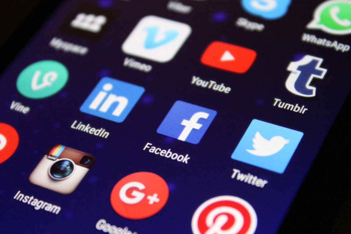 sociale media,visuele beperking