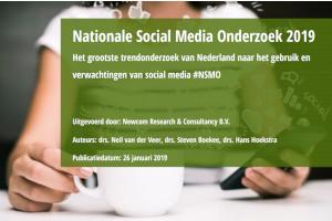 social media onderzoek 2019