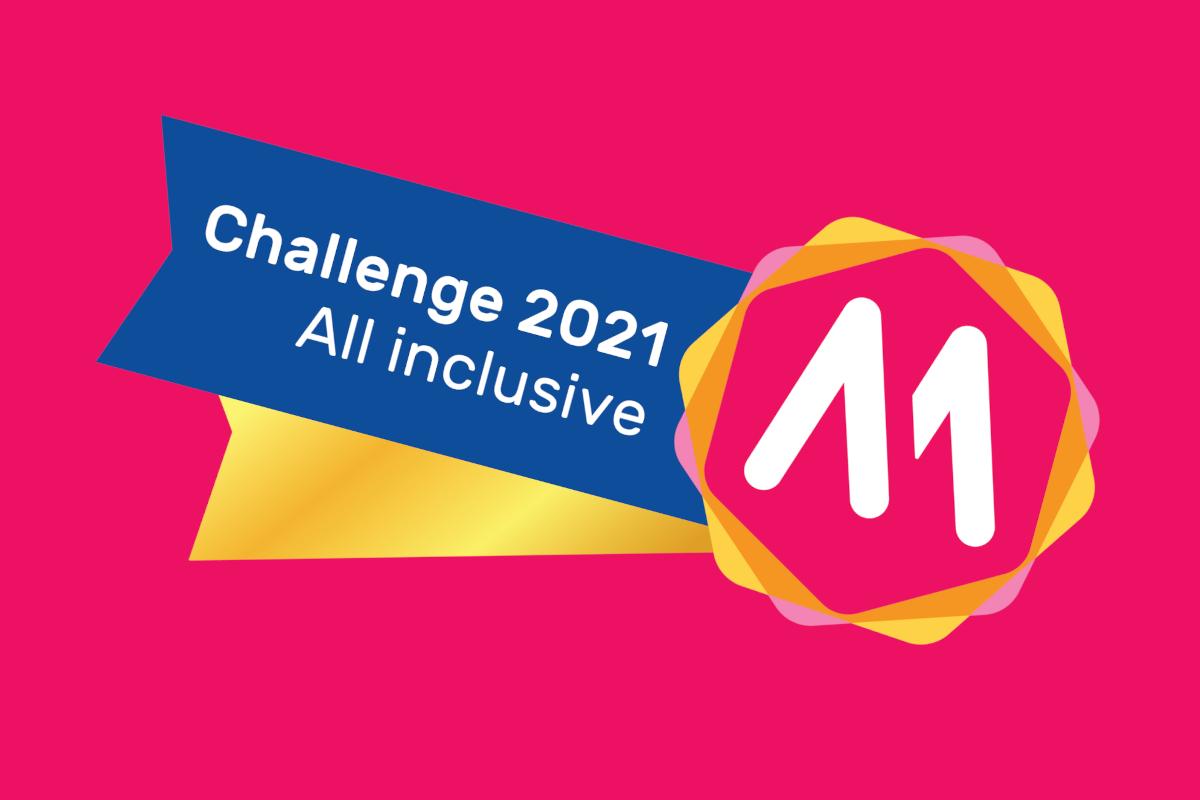 Challenge all inclusive 2021 gehonoreerde initiatieven
