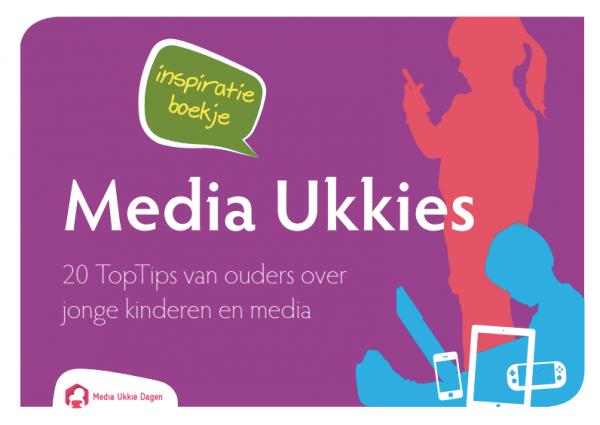 Cover Inspiratieboekje Media Ukkies 2015
