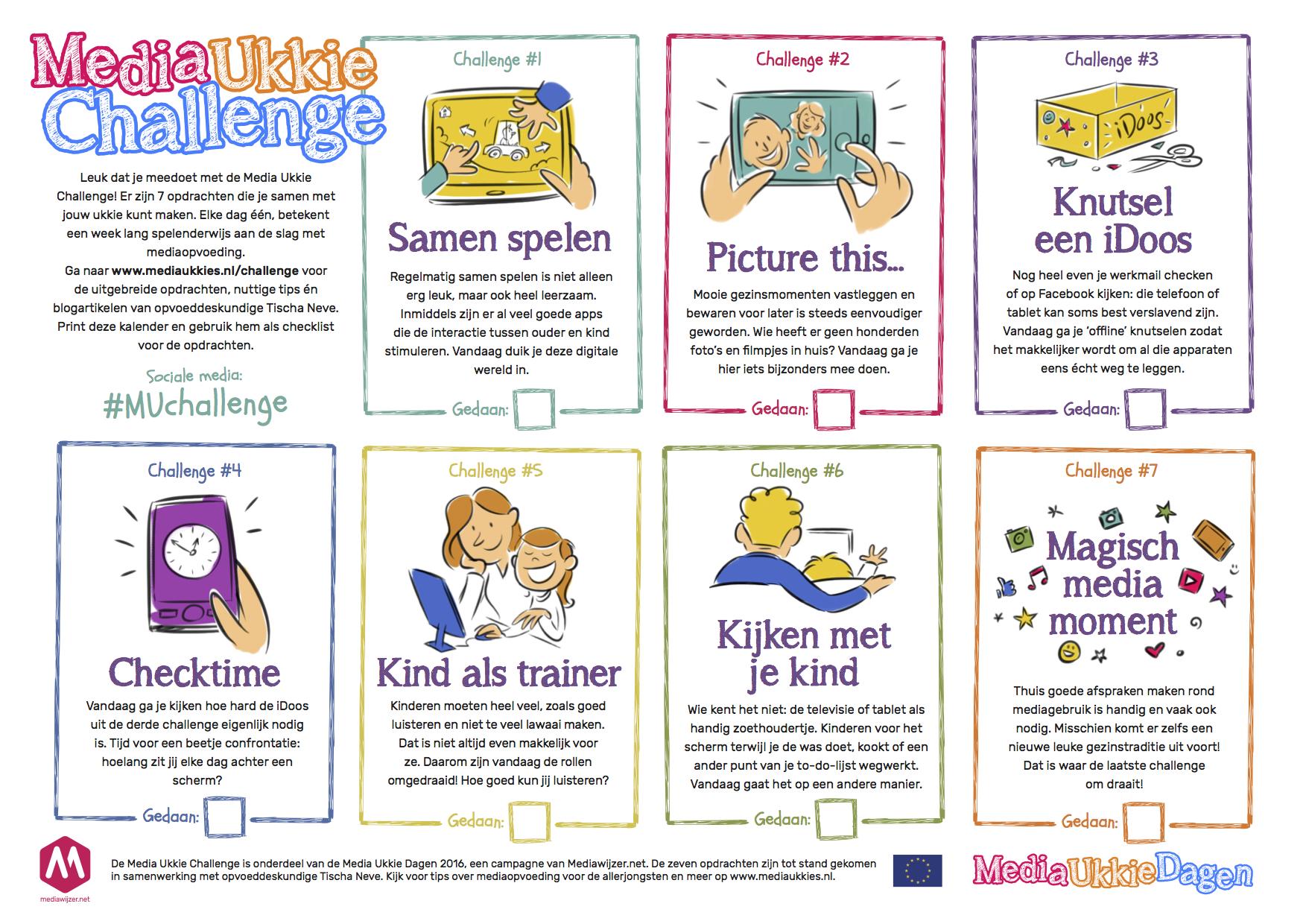 Kalender Media Ukkie Challenge