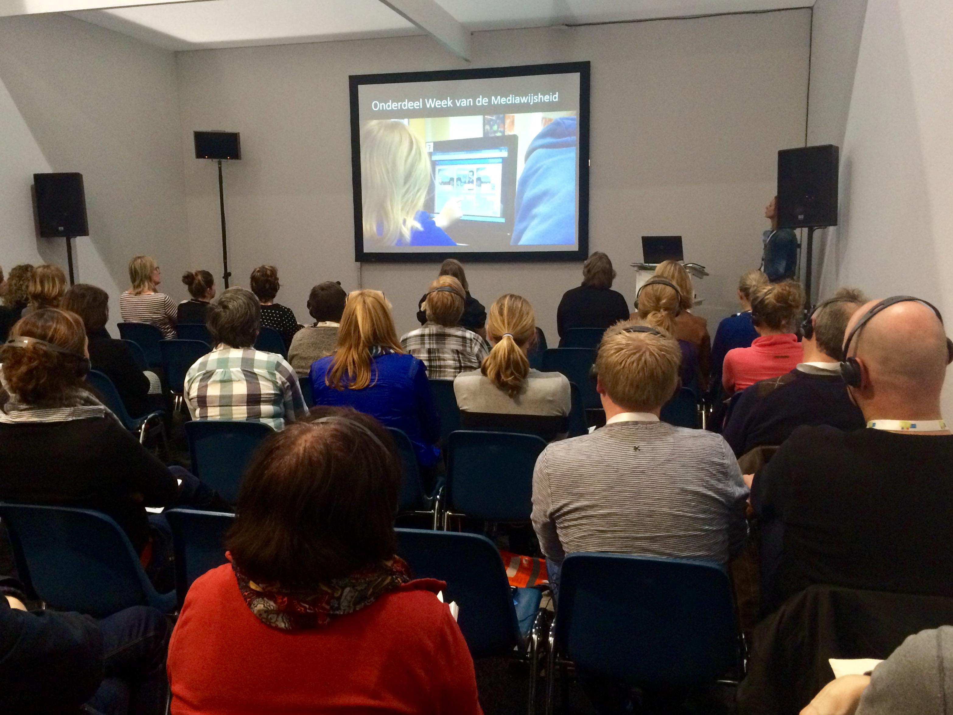 seminar sessie Mediawijzer.net NOT 2015 MediaMasters Week van de Mediawijsheid Ontdekmedia