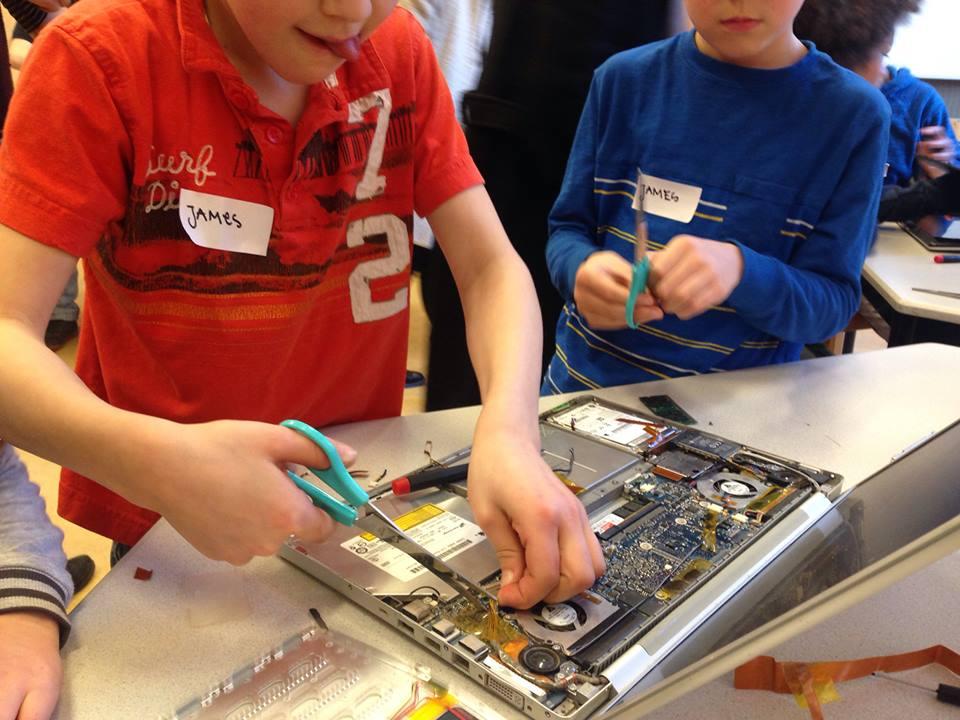 New Tech Kids klas