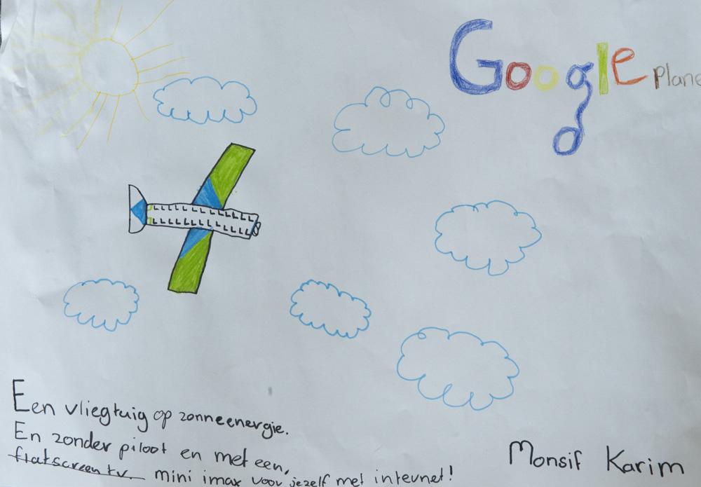 Tekenopdracht Google