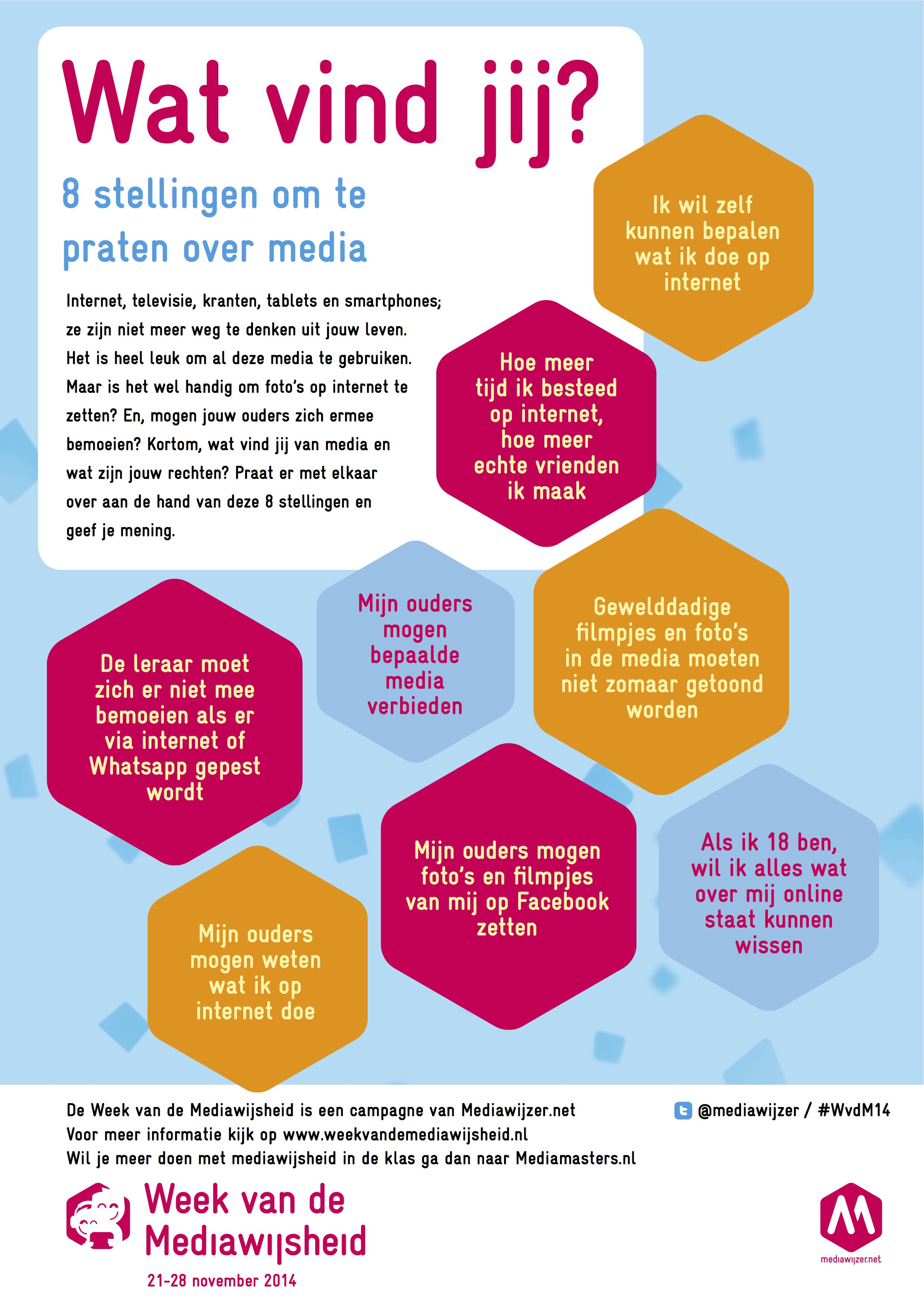 stellingen poster Week van de Mediawijsheid