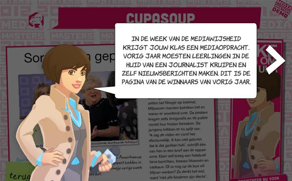 MediaMasters is een spannend, leerzaam en gratis mediaspel