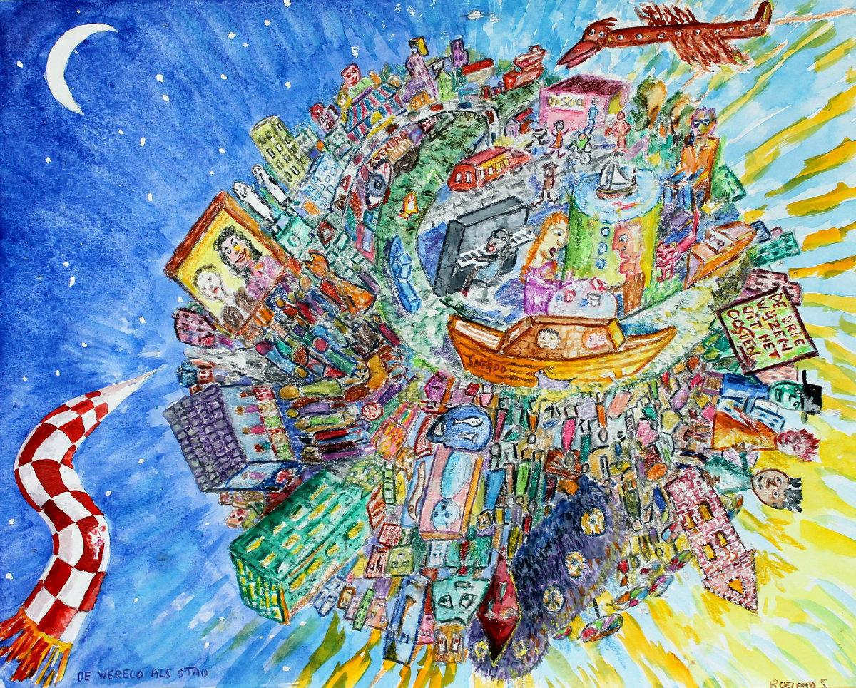 De wereld als stad - Roeland Smeets
