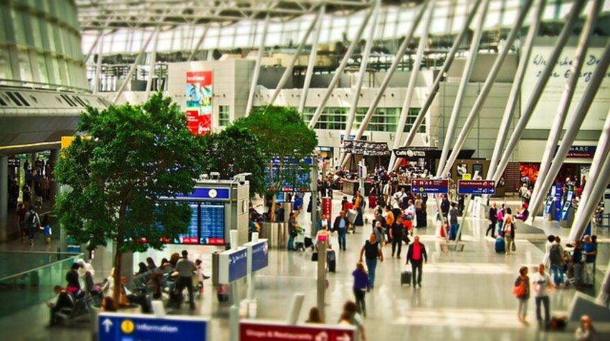 leven als op een vliegveld