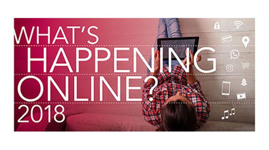 What's happening online 2018