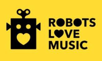 creatieve robots,robots love music