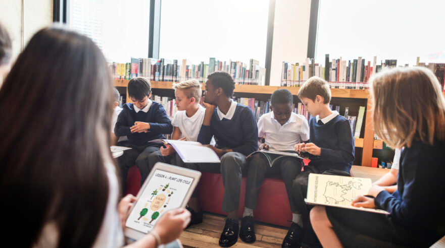 Mediaopvoeding bibliotheek