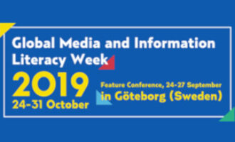Global Media and Information Literacy Week Feature