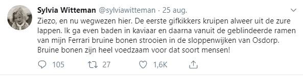 Tweet Sylvia Witteman