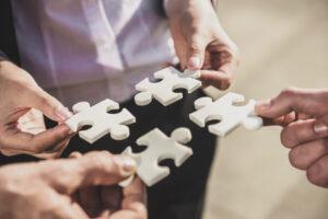 Foto puzzelstukjes impactsessie