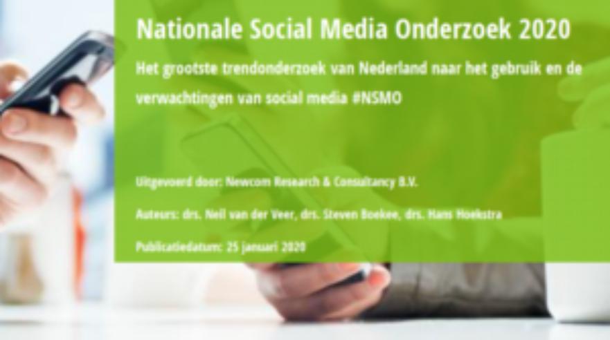 nationaal social media onderzoek 2020