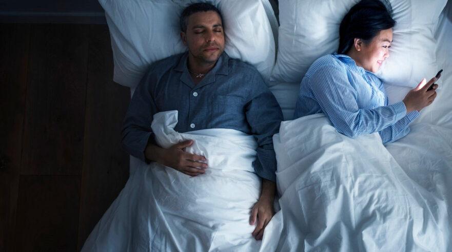 blauw licht,mediagebruik,slaap