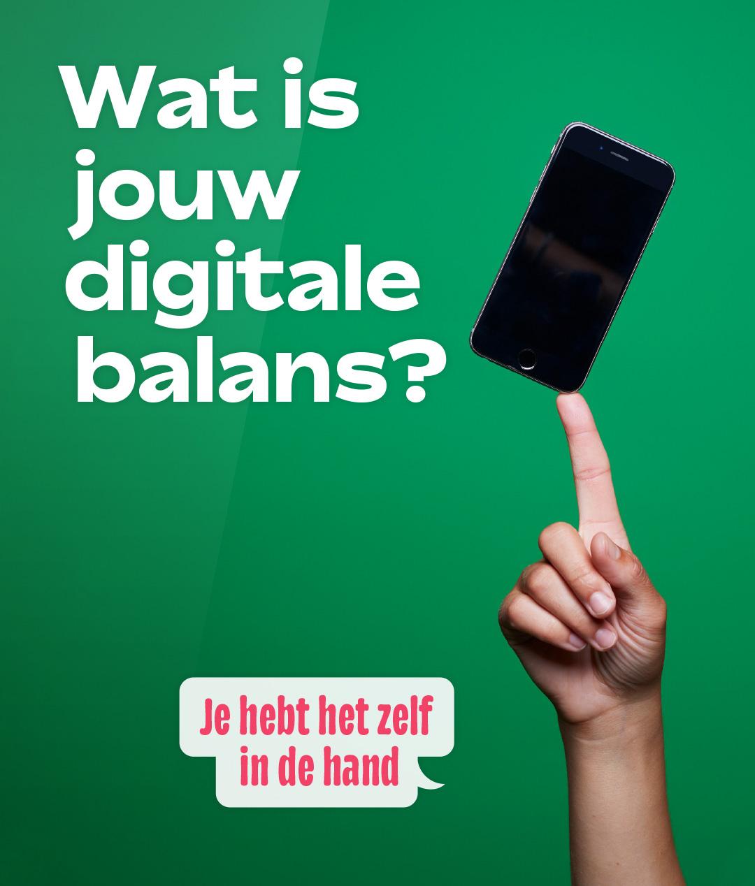Week van de Mediawijsheid,WvdM,digitale balans