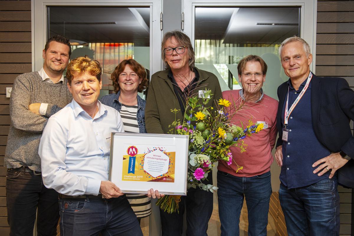 Winnaars Challenge NL Mediawijs 2019